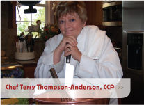 Chef Terry Thompson-Anderson, CCP