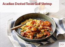 Acadian Dusted Texas Gulf Shrimp