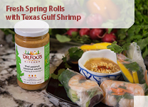 Fresh Spring Rolls with Texas Gulf Shrimp