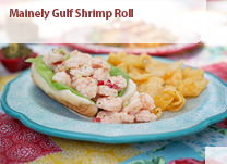 Mainely Gulf Shrimp Roll