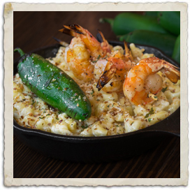 Jalapeno Shrimp Mac & Cheese