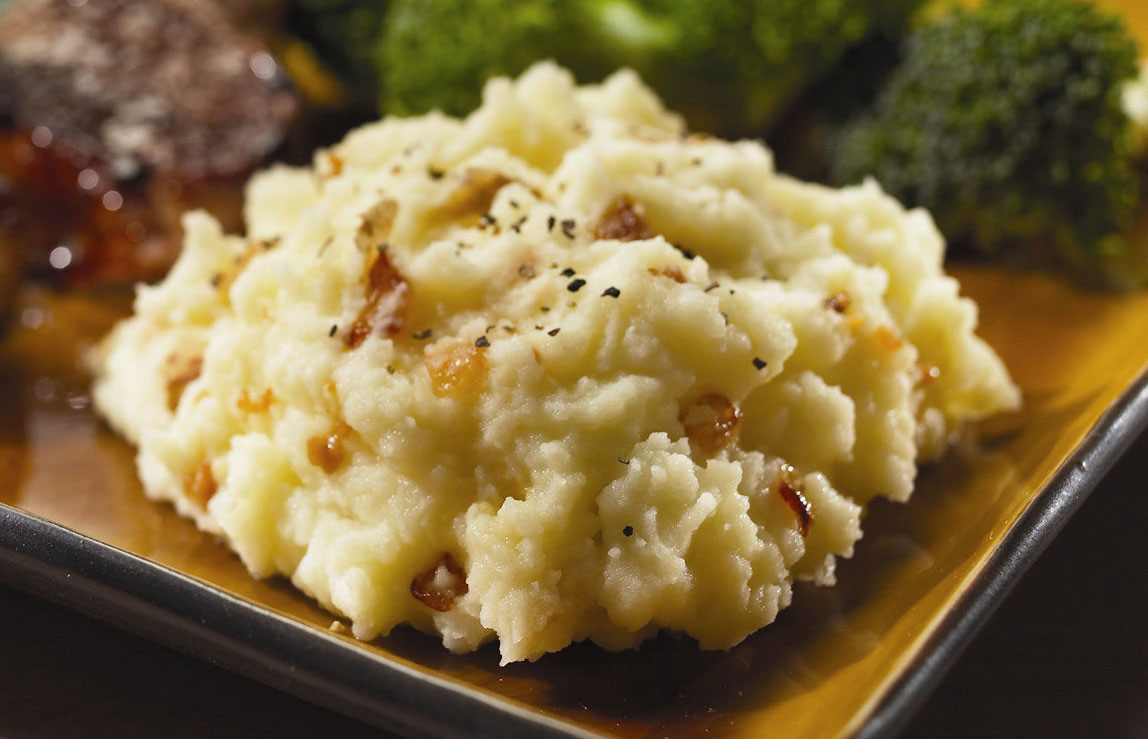 garlic and onion mash potatoes